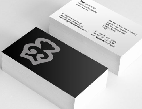 The Curator Business Cards