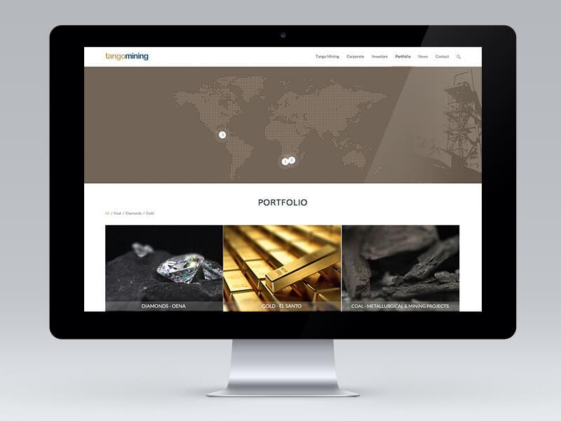 Tango Mining Website
